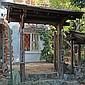 Japanese Roofed Gateway