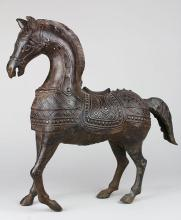 Indian Copper Alloy Horse