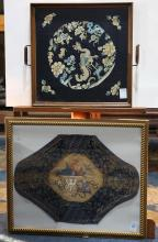 Chinese Framed Embroideries