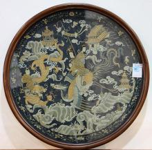 Chinese Framed Embroidery, Immortal