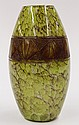 Legras art glass vase