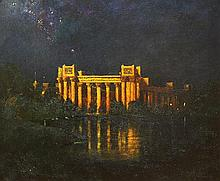 Painting, Will Sparks, Palace of Fine Arts