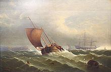 Painting, Edward Moran