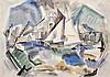 Watercolor, John Marin, John Marin, $4,000