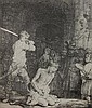 Print, Rembrandt van Rijn,The Beheading of Saint John the Baptist,  Rembrandt, $500