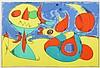 Print, Joan Miro, Oiseau Zephyr