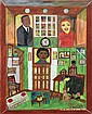 Painting, Martin Luther King, Outsider