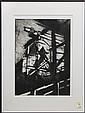 Etching with aquatint, Industrial Composition