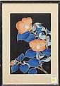 Japanese Print  Kawarazaki Shodo, Meiji