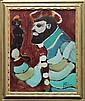 Painting, Yves Leduc, Man