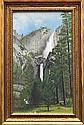Painting, Yosemite Falls, American School