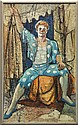 Painting, Seated Clown, Modern