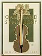 Lithograph Poster, David Lance Goines