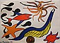 Lithograph, After Alexander Calder, Red Fish