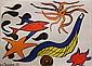 Lithograph, After Alexander Calder, Red Fish