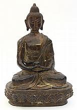 Chinese Bronze Buddha