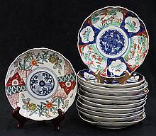Japanese Kutani Plates,19 c