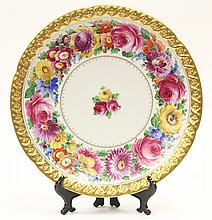 Dresden cabinet plate by Hutschenreuther