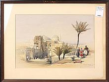 Orientalist Print, Louis Haghe after David Roberts