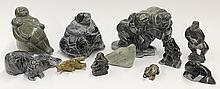 Inuit stone carvings