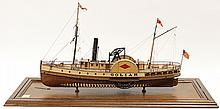 Hitchcock model ship of the 'Goliah
