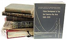 (lot of 6) Early California books and ephemera, consisting of a 1907 Pacific Telephone co