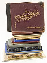 (lot of 18) Oakland and Alameda County history books, consisting of