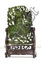 Chinese Spinach Jade Plaque