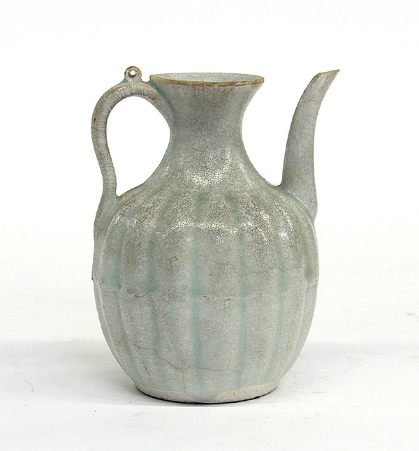 Chinese Small Celadon Glazed Ewer