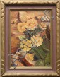 Painting, Cactus Flowers, signed R. Skinner