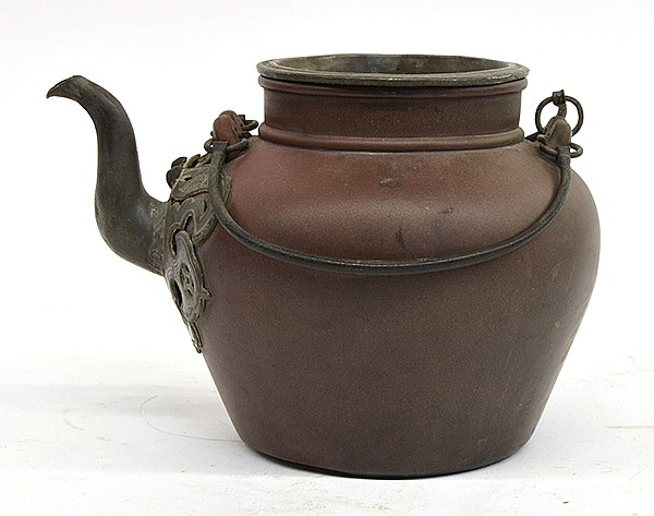 Chinese Yixing Zisha Ceramic Teapot