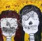 Painting, Yolanda Garcia, El Amor que Nadie Pudo Matar