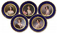Franz Xaver Thallmaier, Munich cabinet plates