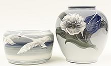 (lot of 2) Royal Danish porcelain group