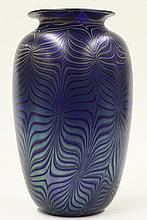 Orient and Flume art glass vase