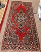 Persian Sarouk runner, 6'9' x 2'7'