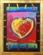 Framed acrylic on canvas,