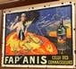 Vintage Lithograph, Fap'Amis - Celui des Connaisseurs