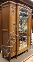 Continental Art Deco armoire