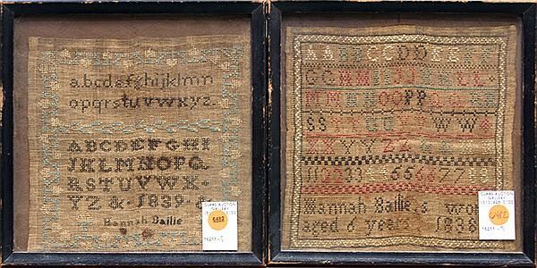 American stitch samplers