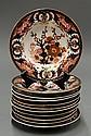 Royal Crown Derby dinner plates 19th century