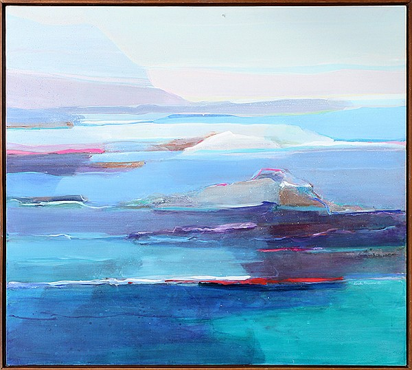 Painting, Reef, signed Carol; Brown