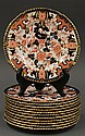 (lot of 12) Royal Crown Derby Imari salads
