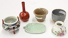 Six Asian/Chinese Ceramic Items