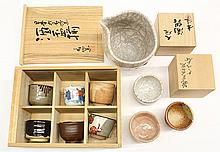 Japanese Sake Cups by Various Ceramicists