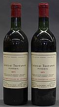(lot of 2) 1971 Chateau Trotanoy, Pomerol, France, each 750ml