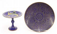 Two Chinese Cloisonne Tazza/Charger