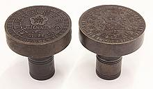 Two Chinese Bronze Seals