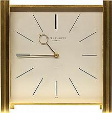 Swiss Patek Phillipe #1065 solar powered desk clock