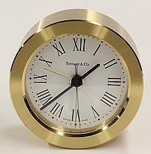 Tiffany and Co., New York, desk clock